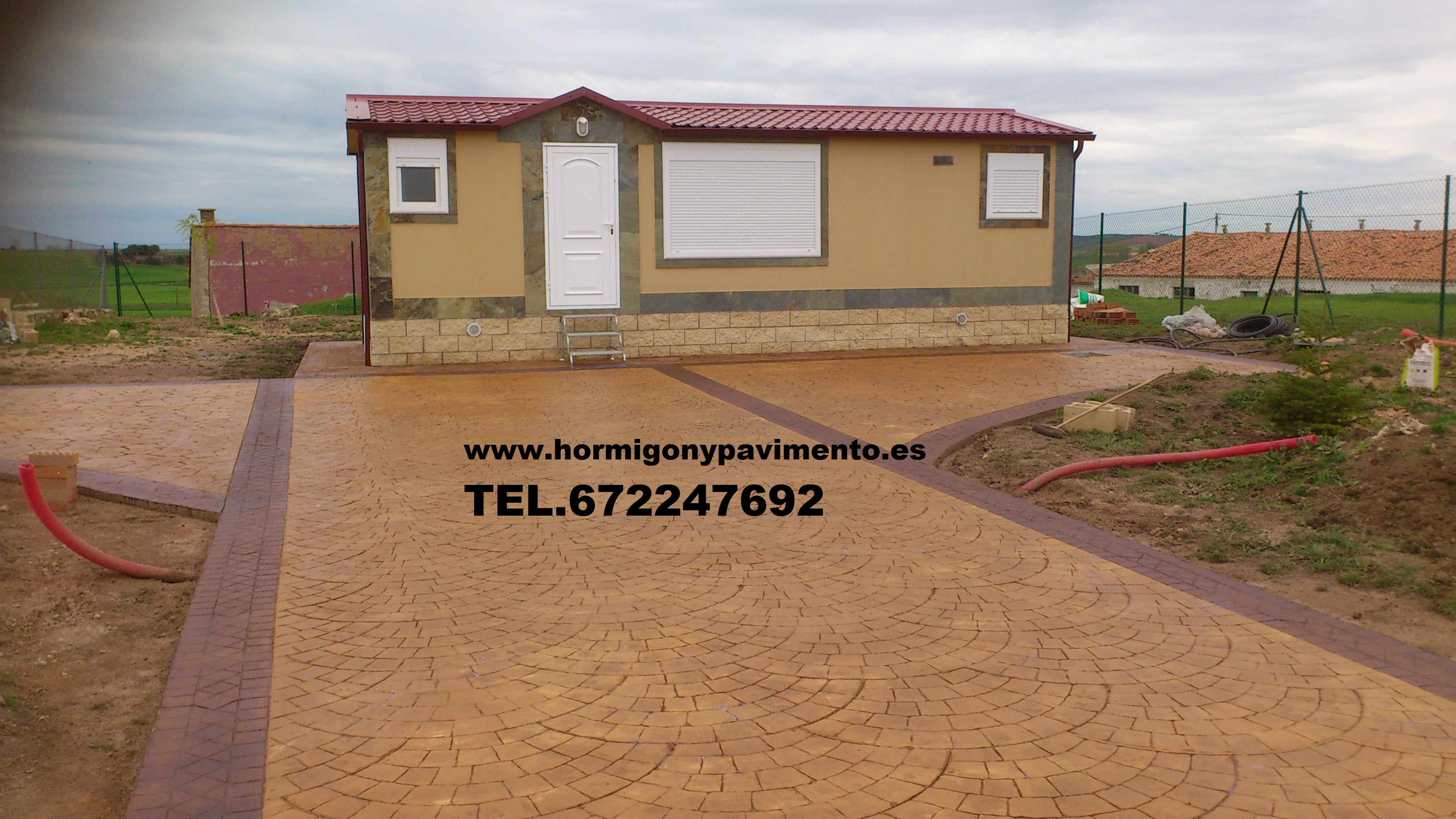 Hormigon impreso valdemorillo suelos baratos valdemorillo - Hormigon impreso barato ...